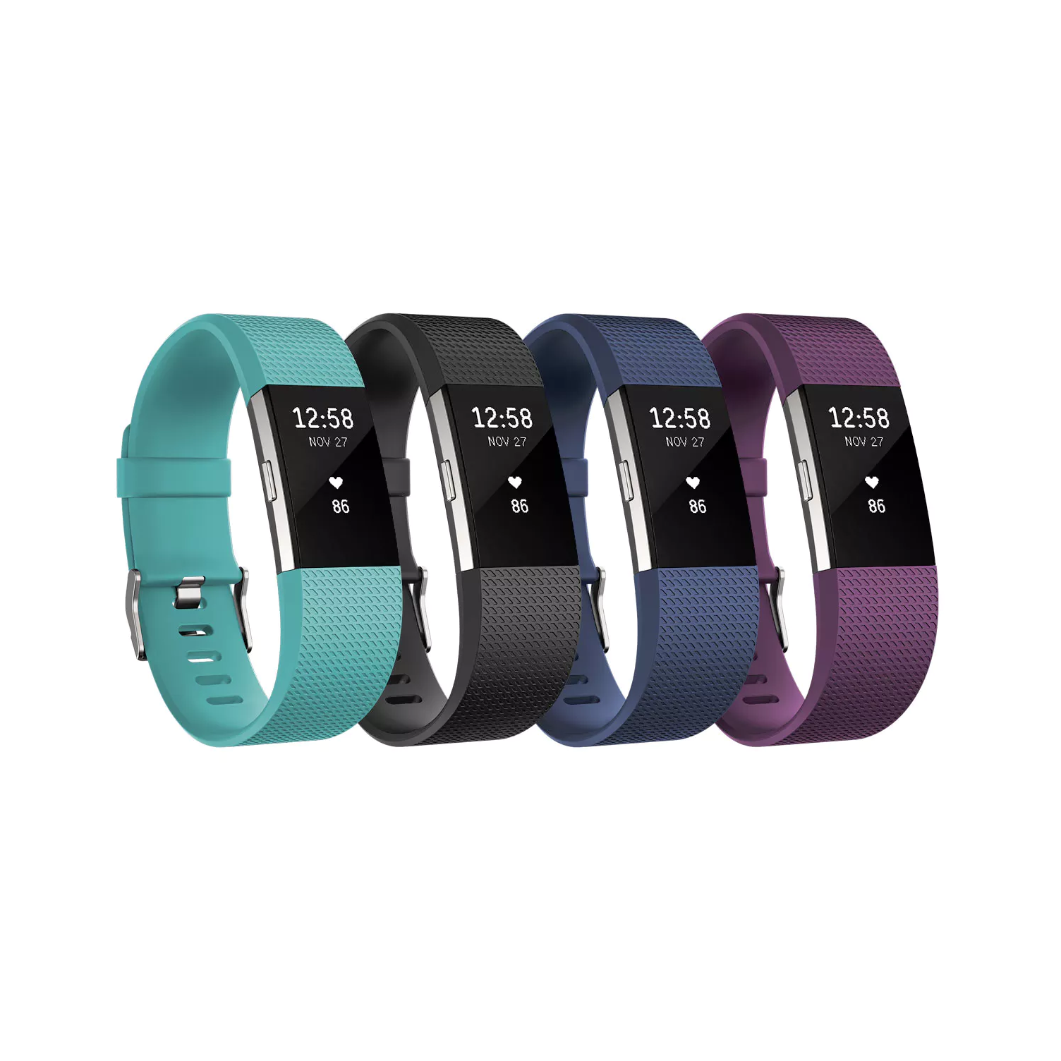 how to change time and date on fitbit charge 2
