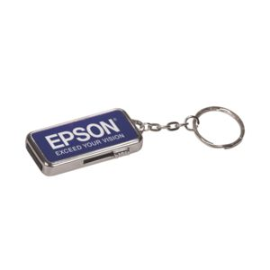 Engraved Silver Metal USB Flash Drive (4 GB) Thumbnail