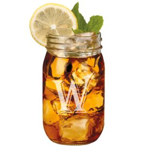 Engraved Mason Jars - 16 oz Thumbnail