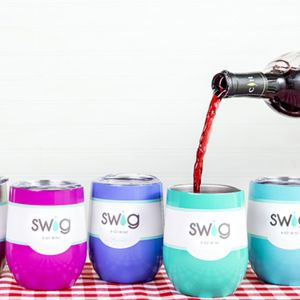 Swig Engraved Stemless Wine Cup Thumbnail