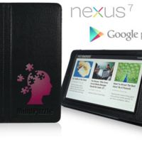 Debossed TEXT Nexus 7 Smart Case Thumbnail